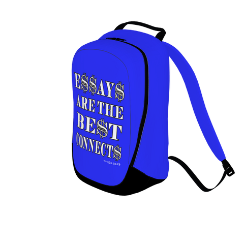 Essays Are The Best Connects, Laptop Backpack, Royal Blue