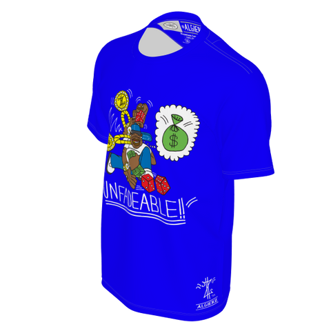 Unfadeable, T-Shirt, Royal Blue
