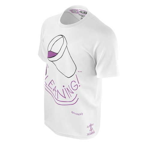 Leaning (T-Shirt) White