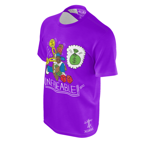 Unfadeable, T-Shirt, Purple