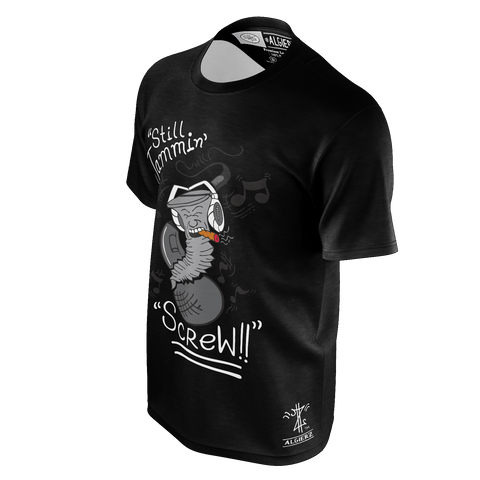 Still Jammin Screw (Black) T-Shirt