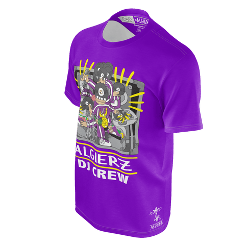 DJ Crew, T-Shirt, Purple