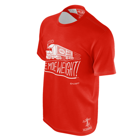 We Move Weight, T-shirt, Red