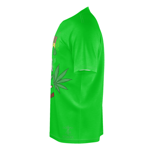 Kush Smoker, T-Shirt, Green