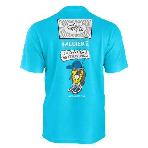 Cooler Than A Polar Bear's Toe Nails, T-Shirt, Turquoise