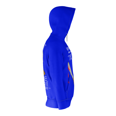 What Doesn't Kill Me // Zip-Up Hoody (Royal Blue)