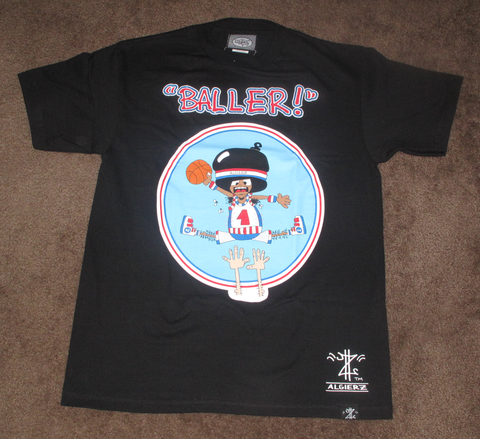 Baller (black) Kids T-Shirt