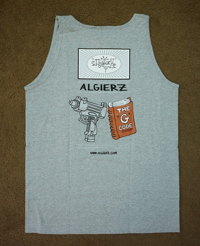 Live By The G Code (grey) Tank
