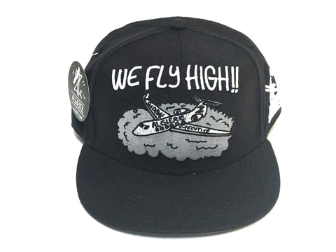 We Fly High - Snapback Black