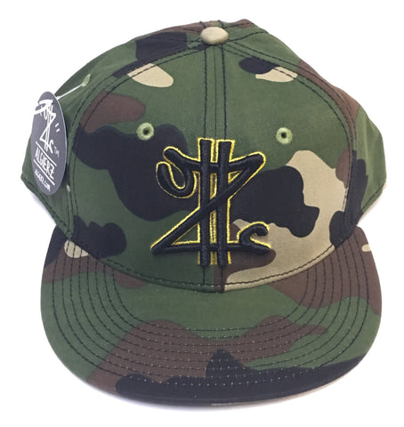 Z Money Snapback Green Camo
