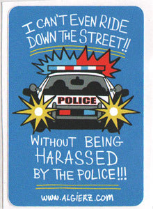 Harassed By The Police - Z-Ro Sticker