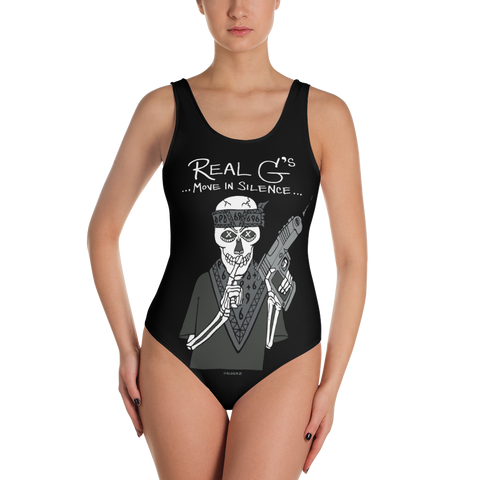 Real G's Move In Silence (black) Swimsuit