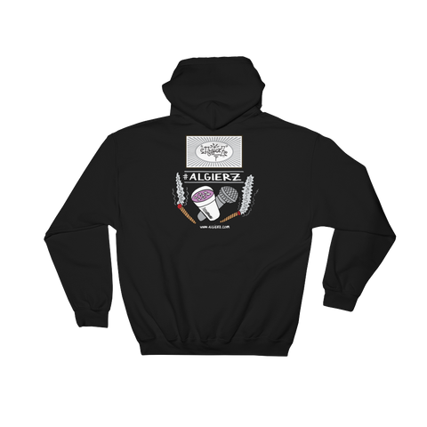 Slow-Mo With Tha Flows // Pull-Over Hoody (black)