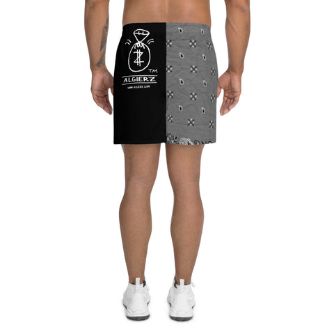 Real G's Move In Silence - Athletic Shorts (Black)