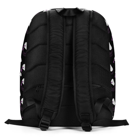 Leaning Drank Cup, Repeating Design, Black, Laptop Backpack (Remix)