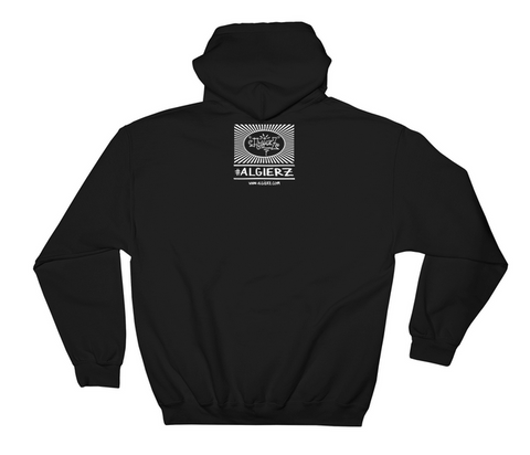 God Bless My Hustle // (Black) Pull-Over Hoodie