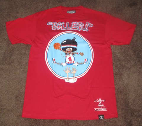 Baller (red) Kids T-Shirt