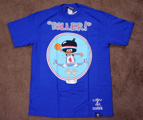 Baller (royal blue) Kids T-Shirt