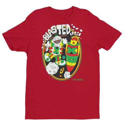 Blasted (Red) T-shirt