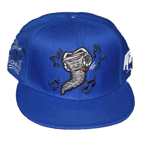 Still Jammin Screw - Snapback Hat - Royal Blue