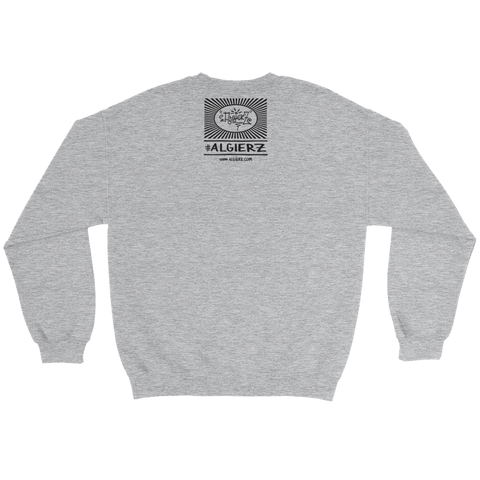 Bona Fide Hustler (Heather Grey) Crewneck Sweatshirt