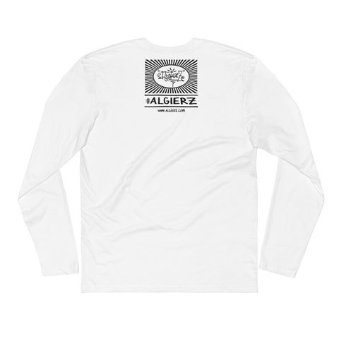 Bona Fide Hustler (white) Long-Sleeve T-shirt