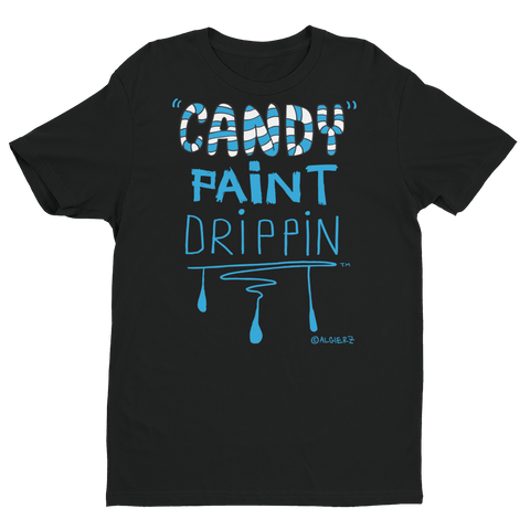 Candy Paint Drippin' (black/blue) T-Shirt