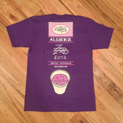 Codeine Over Ice (purple) Z-Ro T-Shirt