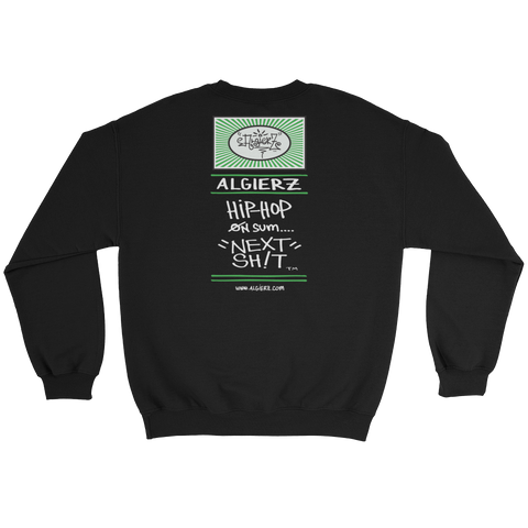 I Don't Smoke Regular Weed - Crewneck Sweatshirt (black)