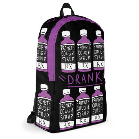 """Purple Drank"" Cough Syrup Bottle - Laptop Backpack"