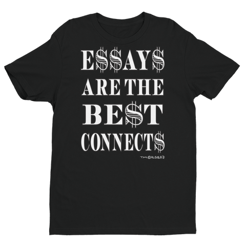 Essays Are The Best (black) T-Shirt
