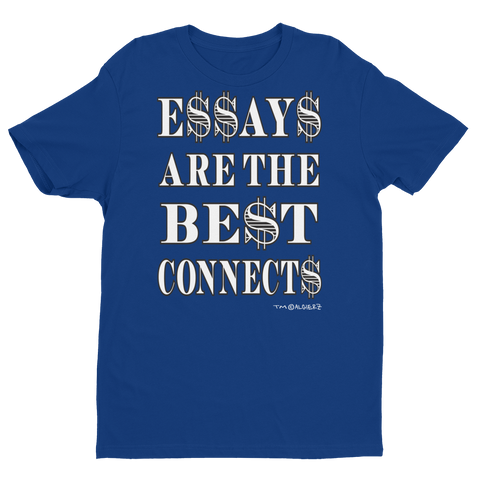 Essays Are The Best (blue) T-Shirt