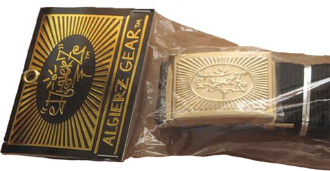 Algierz Flag Belt (Gold)