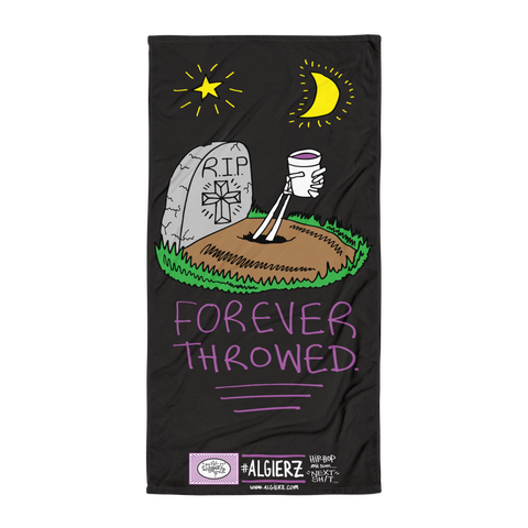 Forever Throwed - Beach Blanket Towel