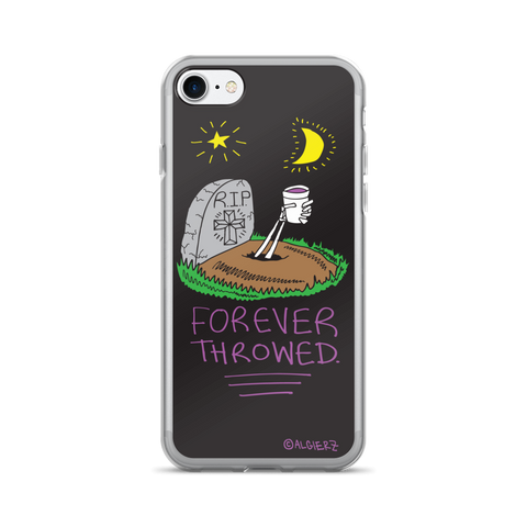 Forever Throwed iPhone Case