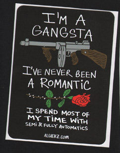 I'm A Gangsta - Z-Ro Sticker