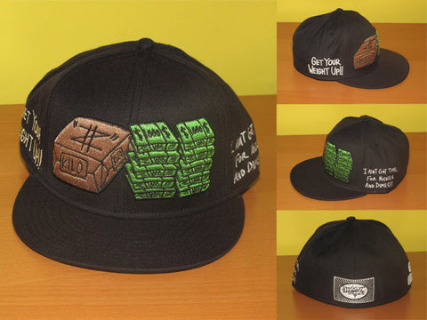 Get Your Weight Up (black) Hat