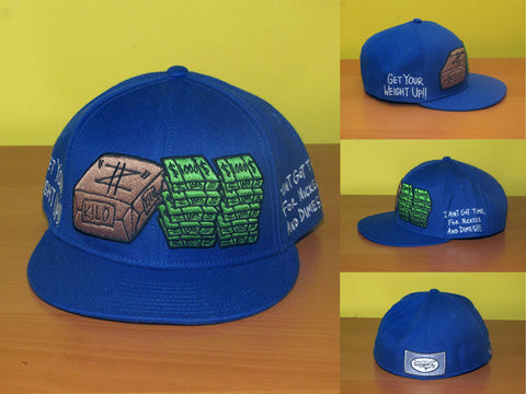 Get Your Weight Up (blue) Hat