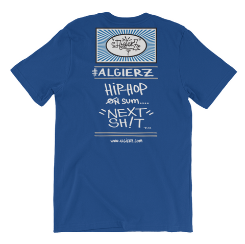 All I Do Is Hit Licks (blue) T-Shirt