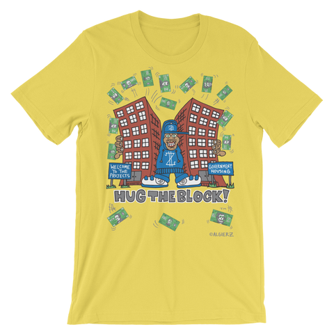 Hug The Block (yellow) CNN T-Shirt