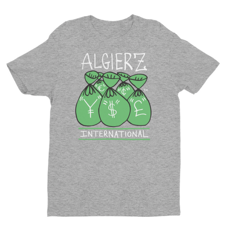 International Money (Grey) T-Shirt