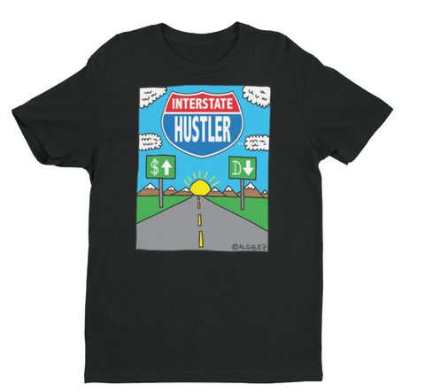 Interstate Hustler (black) T-Shirt