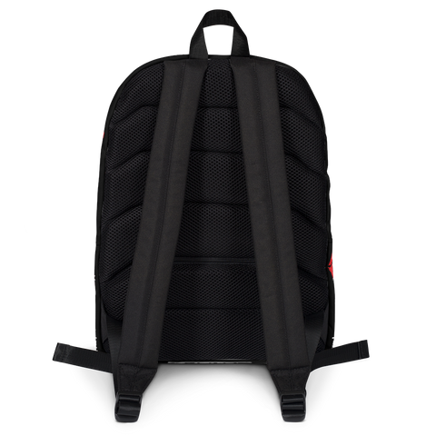 Kiss My Hustlin' A** - (Black) Laptop Backpack
