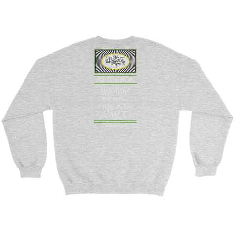 It's Lonely at the Top - Crewneck Sweatshirt - Grey