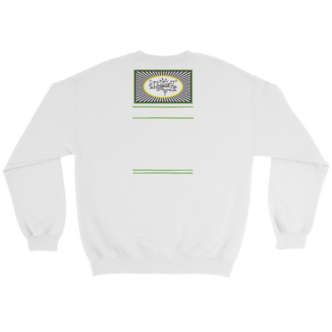 It's Lonely at the Top - Crewneck Sweatshirt - White