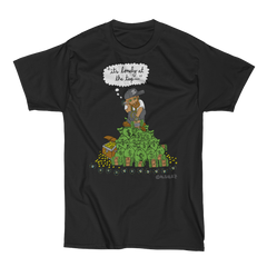 It's Lonely At The Top (black) T-Shirt