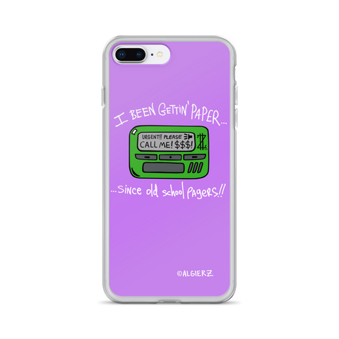 Old School Pager, Case for iPhones and Samsungs, Light Plum Purple 🍇