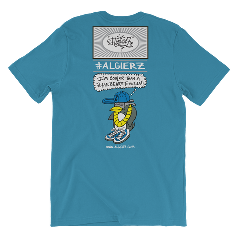Cooler Than a Polar Bear's Toe Nails? (turquoise) T-Shirt
