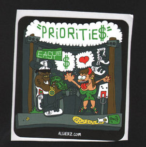 Priorities - Sticker