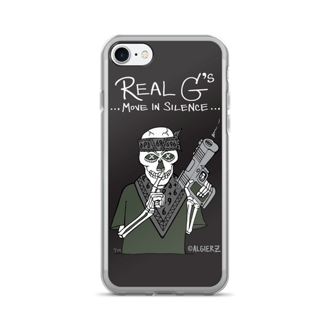 Real G's Move in Silence Case for iPhones and Samsungs